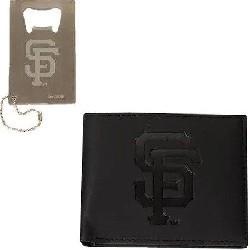 MLB SF Giants Wallet Gift Set