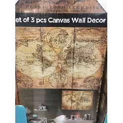 Set of 3 pieces Canvas Wall...