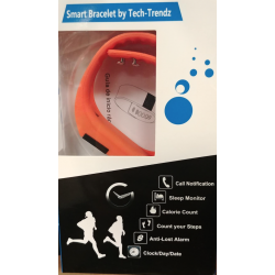 Tech-Trendz Orange Smart Watch