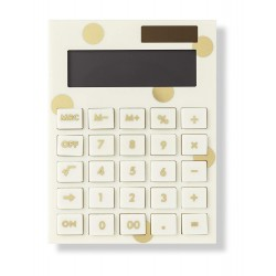 Kate Spade Gold Dot Calculator