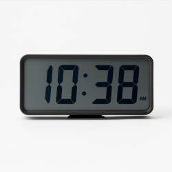 Muji Digital Clock Black - New