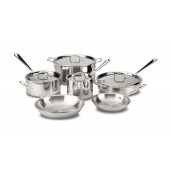 All-Clad 10 Piece five -...